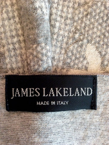 JAMES LAKELAND GREY V NECK JUMPER SIZE 20 - Whispers Dress Agency - Womens Knitwear - 2