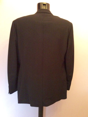 Hugo Boss Black Wool Suit Jacket Size 42 - Whispers Dress Agency - Mens Suits & Tailoring - 3