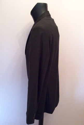 Hugo Boss Charcoal Grey Wool Suit Jacket Size 42 - Whispers Dress Agency - Mens Suits & Tailoring - 2