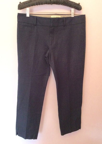 Banana Republic Navy Blue Capri Pants Size 14P - Whispers Dress Agency - Sold - 1