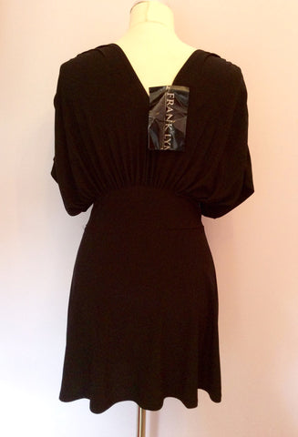 BRAND NEW FRANK LYMAN BLACK LONG TOP SIZE 8 - Whispers Dress Agency - Womens Tops - 3