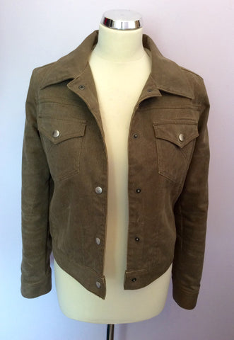 Joseph Light Brown Faux Fur Lined Jacket Size S - Whispers Dress Agency - Womens Coats & Jackets - 4