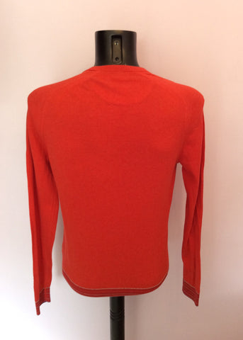 Ted Baker Red Crew Neck Jumper Size 3 Approx M - Whispers Dress Agency - Mens Knitwear - 2