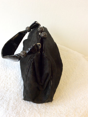 GIORGIO ARMANI BLACK EVENING BAG - Whispers Dress Agency - Evening Bags - 3