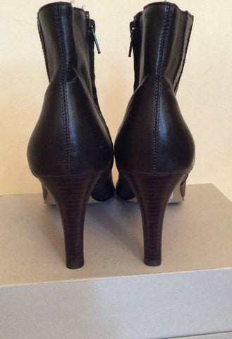Brand New Marks & Spencer Brown Ankle Boots Size 7/40.5 - Whispers Dress Agency - Womens Boots - 3