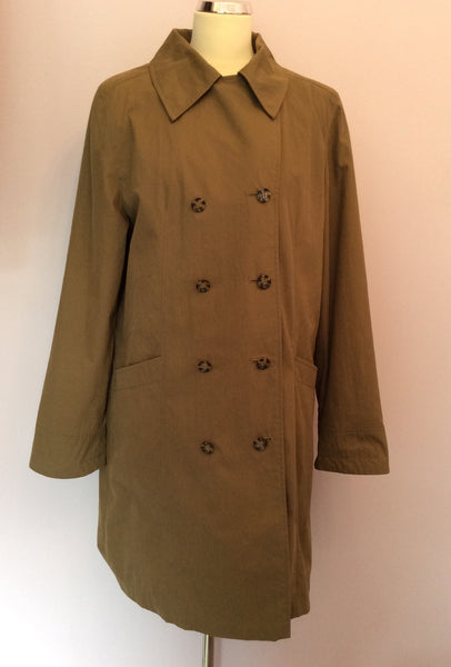 Paul Costelloe Dressage Brown Mac Size L - Whispers Dress Agency - Sold - 1