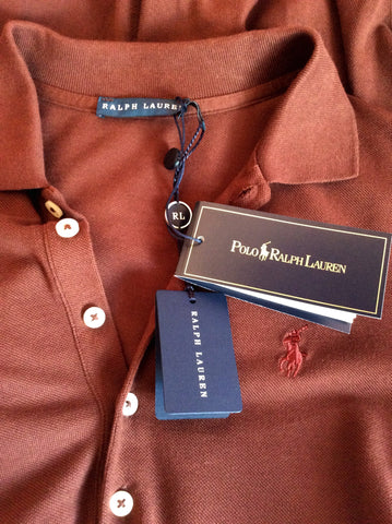 Brand New Ralph Lauren Polo Brown Wimbledon Dress Size XS - Whispers Dress Agency - Sold - 4