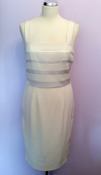 Simon Ellis Occasions Ivory Pencil Dress Size 14 - Whispers Dress Agency - Womens Dresses - 1
