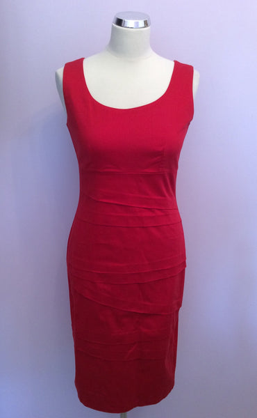 James Lakeland Red Pencil Dress Size 12 - Whispers Dress Agency - Womens Dresses - 1