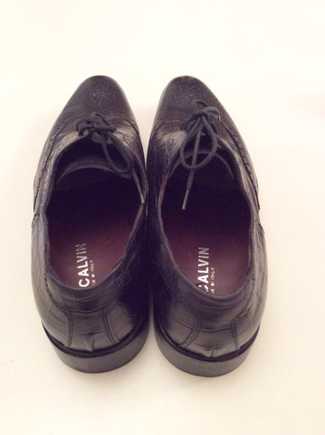 Smart Pat Calvin Italian Leather Lace Up Shoes Size 7/41 - Whispers Dress Agency - Mens Formal Shoes - 4