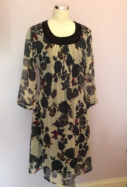 Brand New Coast Floral Print Silk Dress Size 16 - Whispers Dress Agency - Sold - 1