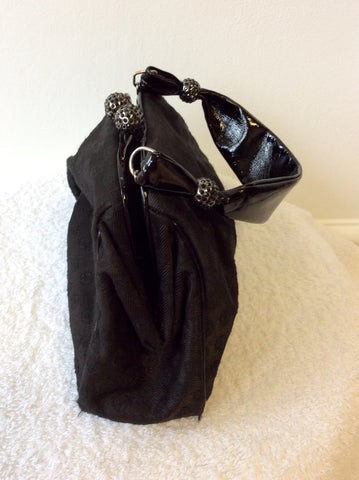 GIORGIO ARMANI BLACK EVENING BAG - Whispers Dress Agency - Evening Bags - 4