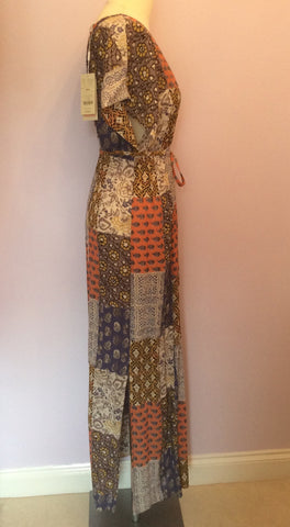Brand New Monsoon Multi Print Maxi Dress Size Small - Whispers Dress Agency - Womens Dresses - 2