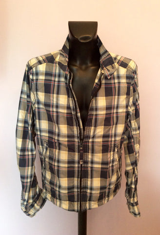 Abercrombie & Fitch Blue Check Hamilton Jacket Size XL - Whispers Dress Agency - Mens Coats & Jackets - 2