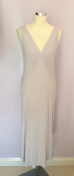 Ghost Pale Lilac Sleeveless V Neck Dress Size M - Whispers Dress Agency - Sold - 1