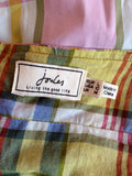 Joules Pink & Green Check Cotton Halterneck Dress Size 14 - Whispers Dress Agency - Womens Dresses - 4