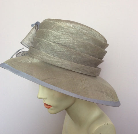 Hat Company Light Blue Formal Hat - Whispers Dress Agency - Womens Formal Hats & Fascinators - 3