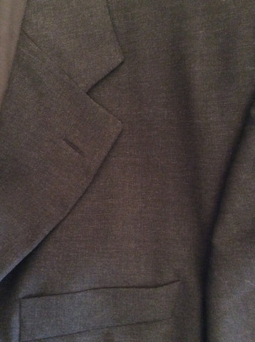 Hugo Boss Charcoal Grey Wool Suit Jacket Size 42 - Whispers Dress Agency - Mens Suits & Tailoring - 4