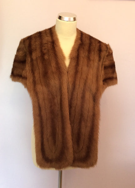Vintage Mr JJ Fenwick Brown Fox Fur Stole - Whispers Dress Agency - Sold - 1