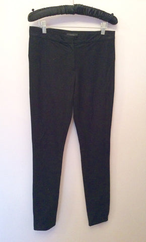 Joseph Black Skinny Leg Trousers Size  UK 8 - Whispers Dress Agency - Sold - 1