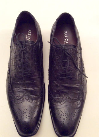 Smart Pat Calvin Italian Leather Lace Up Shoes Size 7/41 - Whispers Dress Agency - Mens Formal Shoes - 2