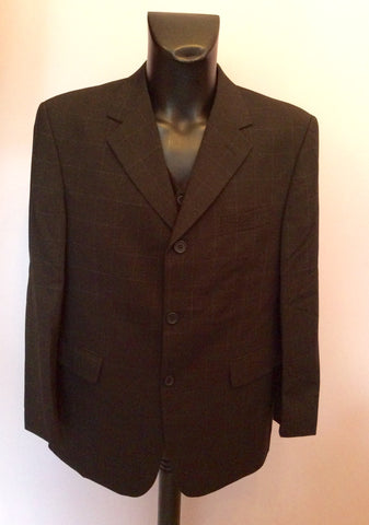Tom English Charcoal Check Jacket, Waistcoat & 3 Pairs Of Trousers Suit Size 42S/38-40W - Whispers Dress Agency - Mens Suits & Tailoring - 2