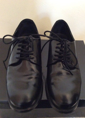 Asos Black Leather Lace Up Shoes Size 7 /40 - Whispers Dress Agency - Mens Formal Shoes - 2