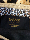 BASLER BLACK LABEL ANNIVERSARY EDITION ANIMAL PRINT LONG SLEEVE TOP SIZE 18 - Whispers Dress Agency - Sold - 3