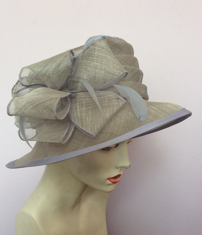 Hat Company Light Blue Formal Hat - Whispers Dress Agency - Womens Formal Hats & Fascinators - 1