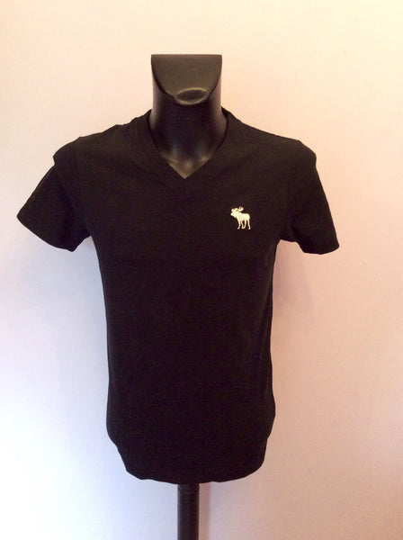 Brand New Abercrombie & Fitch Black Muscle T Shirt Size M - Whispers Dress Agency - Mens Casual Shirts & Tops - 1