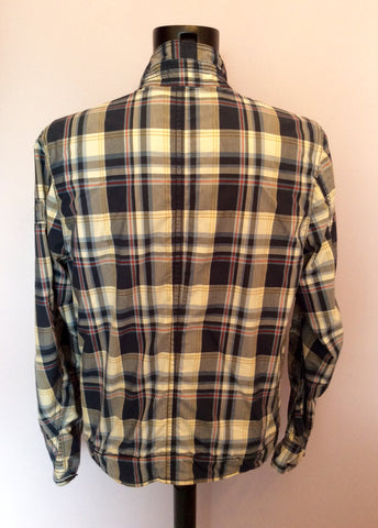 Abercrombie & Fitch Blue Check Hamilton Jacket Size XL - Whispers Dress Agency - Mens Coats & Jackets - 5