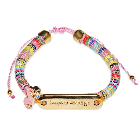 Inspire Always Moustache Bracelet from EverMaya