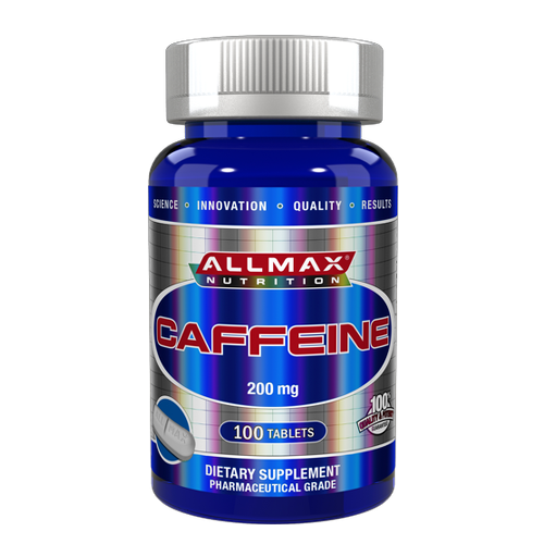 Allmax Caffeine 200mg (100 Tablets)