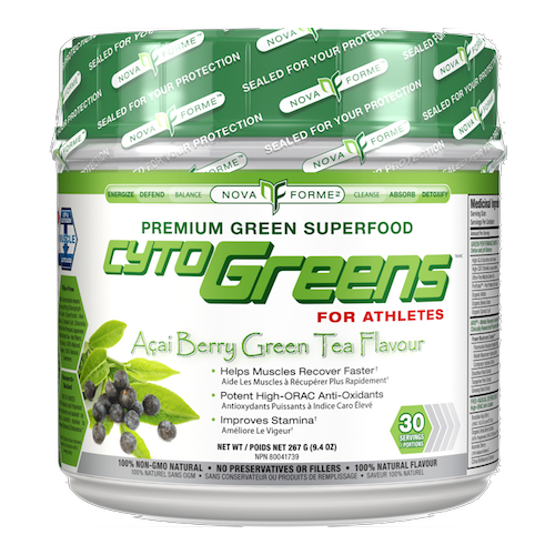 NovaForme Cytogreens Acai Berry Green Tea (30 Serv)