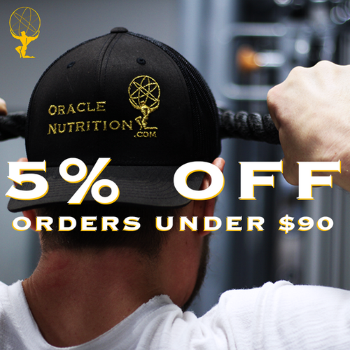 5% off supplement orders, oracle nutrition