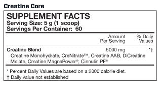 MusclePharm Creatine (60 Servings)