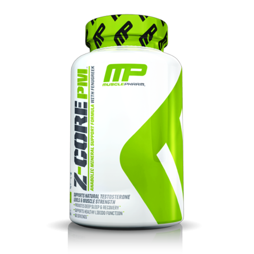 MusclePharm Z-Core PM ZMA (60 Servings)