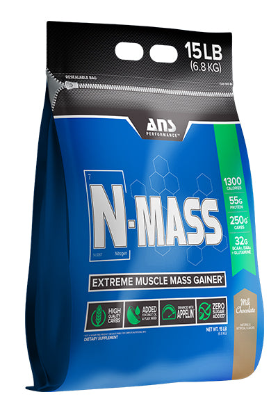 ANS Performance N-MASS Extreme Mass Weight Gainer (15LB)