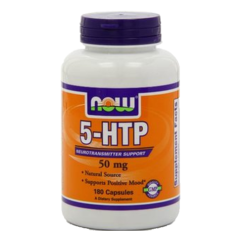 NOW Foods 5-HTP 50 mg (30 Capsules)