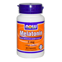 NOW Foods 3 mg Melatonin (60 Capsules)