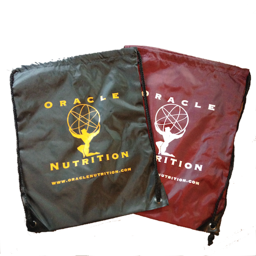 Oracle Nutrition Drawstring Bags
