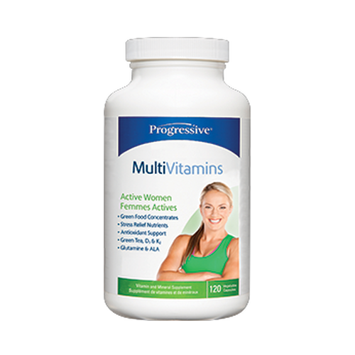 Progressive Active Women Multivitamin (60 Capsules)