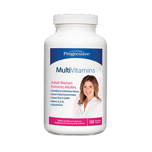 Progressive Adult Women Multivitamin (60 Capsules)