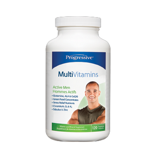 Progressive Active Men Multivitamin (60 Capsules)