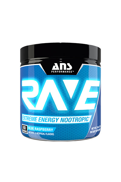 ANS Performance Rave Extreme Energy Nootropic (60 servings)
