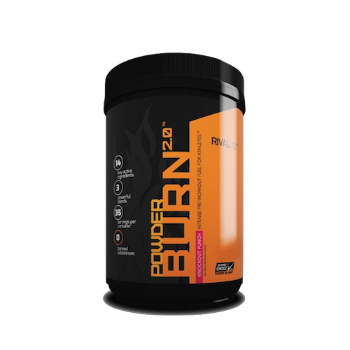 Rivalus Powderburn 2.0 Pre-Workout (35 Servings)