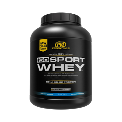 PVL ISO Sport Whey Isolate Protein (5LB)