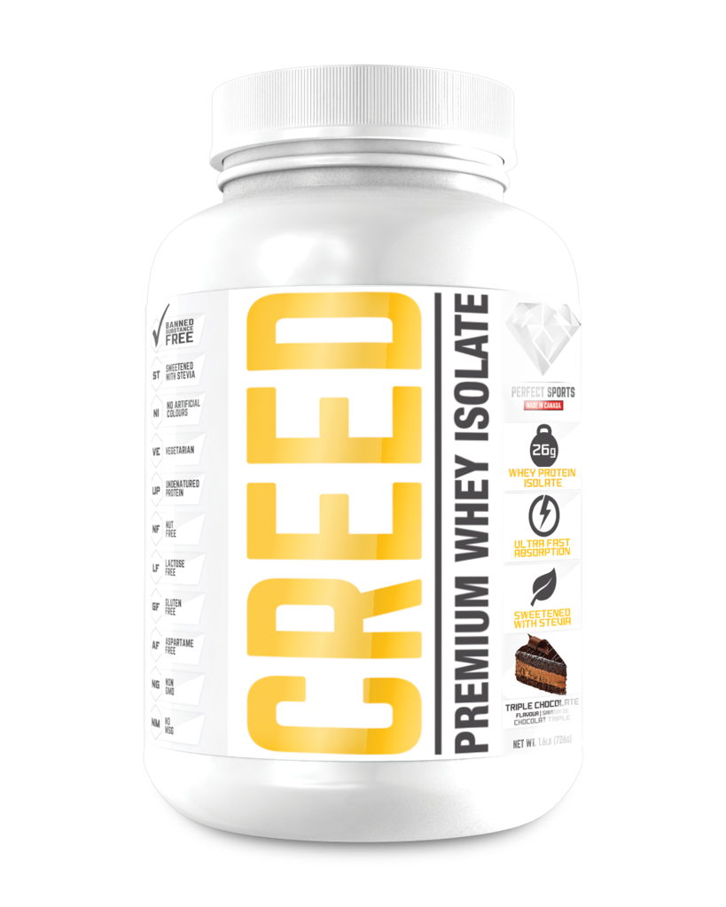 Perfect Sports Creed Whey Protein Isolate (4.4 lbs)