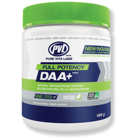 PVL DAA+ Natural Testosterone Support (40 Servings)