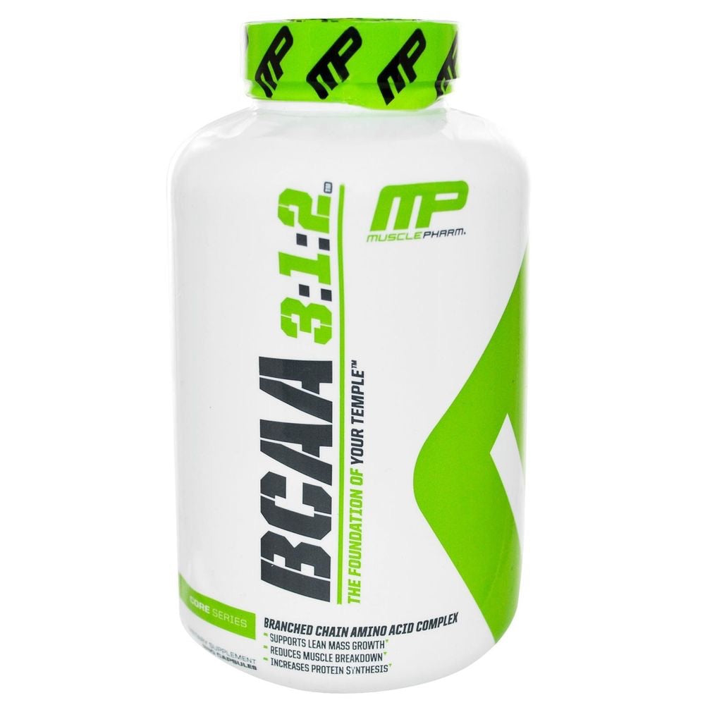 MusclePharm BCAA 3:1:2 Capsules (30-60 Servings)